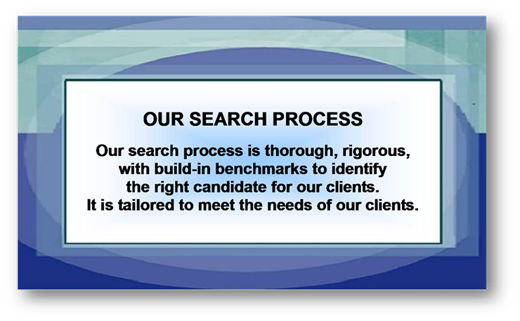 our search process